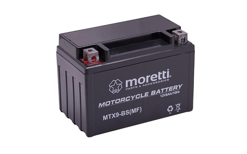 Akumulator Moretti w technologii AGM