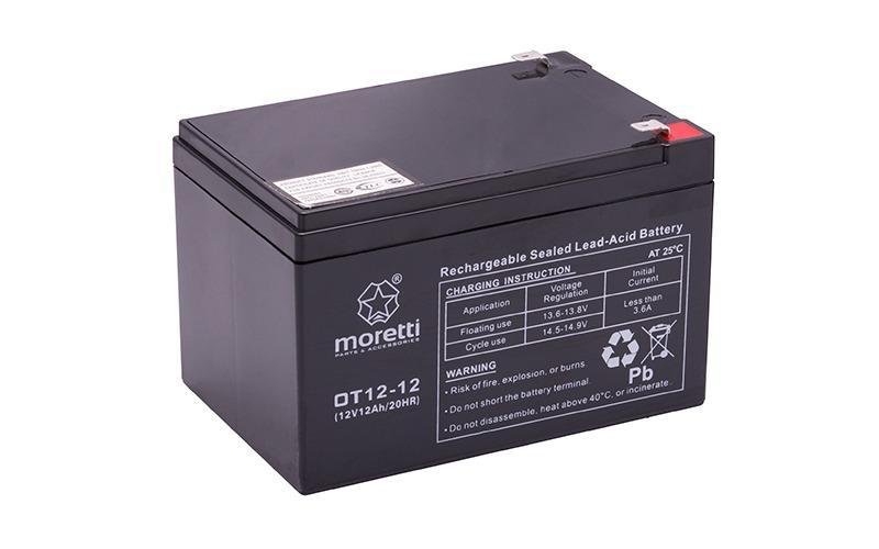 Akumulator żelowy Moretti